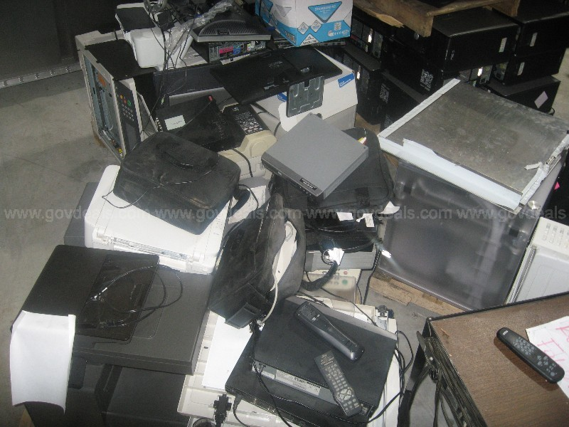 COMPUTERS ,PRINTERS MONITORS ,  PROJECTORS ect
